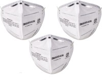 Vezual 3M 9004IN Mask for Dust / Pollution P1 Class (Pack of 3) Mask and Respirator - Price 128 57 % Off