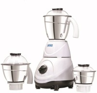 Boss Leo 0600 Mixer Grinder(White, 3 Jars)