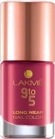 Lakme 9 to 5 Long Wear Nail Enamel Berry Business