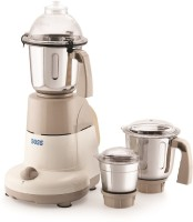 Boss Excel 750 Mixer Grinder(Golden Beige, White, 3 Jars)