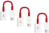 RETRACK SET OF 3PC Universal Type C 3.1 To USB Adapter(Red)