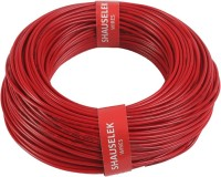 Shauselek PVC 1.0 sq/mm Red 90 m Wire(Red)