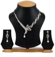 Avani Industries Alloy Jewel Set(Silver)