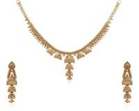 Jisha Yellow Gold 18kt Earring & Necklace Set