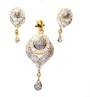 signature collection jewelry Alloy Jewel Set(White)