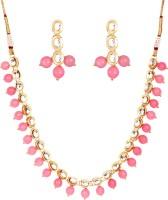 1976 Jewels Alloy Jewel Set(Gold, Pink)