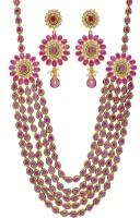 Prisha Collections Alloy Jewel Set(Multicolor)