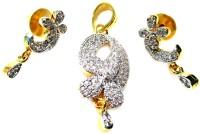 Poddar Jewels Alloy Jewel Set(Gold)