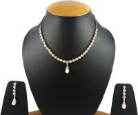 Aradhya Yellow Gold Jewel Set(Silver)