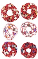 One Personal Care Princess Colorful Designer Fabric Scrunchies Casual Wear SQ-548-02 Rubber Band, Hair Accessory Set(Multicolor) - Price 139 53 % Off