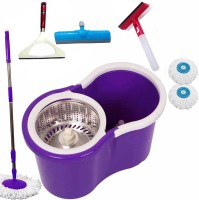 V-Mop Fresh Cleaning-Mop _m1307 Wet & Dry Mop(Multicolor)