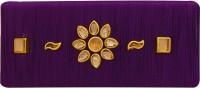 AccessHer Designer silk thread violet hair back clip/ accessory for women Hair Clip(Multicolor) - Price 299 76 % Off