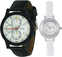 Crude RG543  Analog Watch For Couple