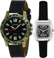 Crude RG547  Analog Watch For Couple