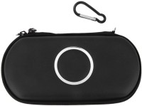Ae Zone Pouch for PlayStation, PSP, PSP 1000, PSP 2000, PSP 3000(Black, Artificial Leather)