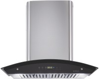 Elica OSB HAC Touch BF Chimney (60 cm, 1200 m³/hr, Stainless Steel and Glass) Wall Mounted Chimney(Silver 1200 CMH)