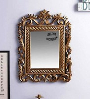 Onlineshoppee AFR3396 Decorative Mirror(Rectangle Finish : Paint)