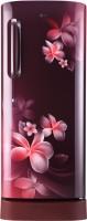 View LG 235 L Direct Cool Single Door 4 Star Refrigerator(Scarlet Plumeria, GL-D241ASPX) Price Online(LG)