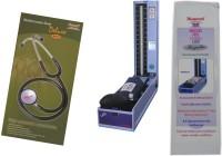 Diamond LED Regular Model BPDG041 with Original brand Stethoscope ST012 Combo Kit Bp Monitor(Blue, Black)