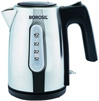 Borosil BKE10LSSB12 Electric Kettle(1200, Black, Silver)