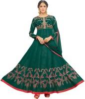 Divastri Faux Georgette Embroidered Salwar Suit Dupatta Material(Unstitched)