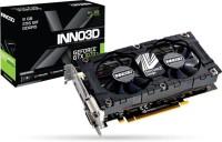 INNO3D NVIDIA GTX 1070 TI X2 V2 4 GB GDDR5 Graphics Card(Black)