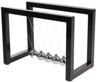 Monkeyjack Newton'S Cradle Geometry Balance Ball Physics Science Gadget Executive Gift Desktop Toy �Black(Multicolor)