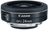 Canon EF-S 24 mm f/2.8 STM Lens  Lens(Black)