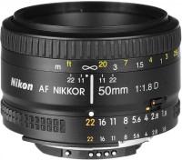 Nikon AF Nikkor 50 mm f/1.8D Lens  Lens for Nikon AF Mount(Black)