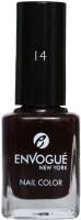EnVogue Nail Polish Black Shadow 9.5ml Black Shadow(9.5 ml) - Price 139 36 % Off