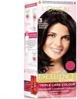 L'Oreal Paris Excellence Creme Hair Color(Natural Darkest Brown 3)