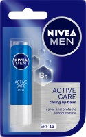 Nivea Men Care Lip Balm Natural(4.8 g)