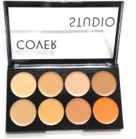 Natural Contour Concealer highlighter bronzer pallets shades long-lasting cream Concealer(mutiple) - Price 448 77 % Off