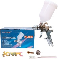 ISC Gravity Feed H827 Nozzle 1.4/1.7mm HVLP Sprayer(Multicolor)