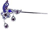 THE HOLY MART Silver Plated diamond studed Flute Deity Ornament(KRISHNA, Balgopal, Govinda, LADOO GOPAL, Hanuman, Radha krishna, Durga Devi, OTHER GODS,)