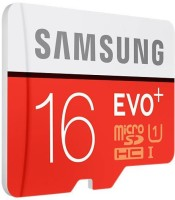 Samsung EVO Plus 16 GB MicroSDHC Class 10 80 MB/s  Memory Card(With Adapter)
