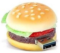 Microware Burger Shape 8gb Pendrive 8 GB Pen Drive 8 GB Pen Drive(Yellow, Red, Green, Brown)