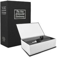 upalabdh Hidden Secret Dictionary Book Safe Locker Cash Box Jewelry Locker Cash Locker Safe Locker(Key Lock)