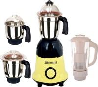 Sunmeet Sunmeet750WYellowBlack4Jar 750 Juicer Mixer Grinder(Yellow, Black, 4 Jars)