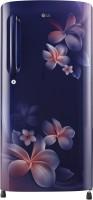 LG 190 L Direct Cool Single Door 4 Star Refrigerator(Blue Plumeria, GL-B201ABPX)