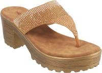Mochi Women 28,Antique gold Heels