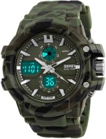Skmei Army Sports Durable Stylish Water Resistant Watch - For Boys