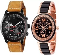 blutech NEW GENERATION STYLISH COMBO WATCH FOR MEN AND WOMEN Watch  - For Couple