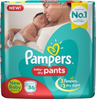 Pampers Pants Diapers - New Born(86 Pieces)