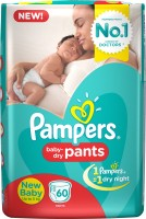 Pampers Pants Diapers - New Born(60 Pieces)