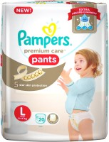 Pampers Pampers Premium Care Pants Diapers - L(20 Pieces)