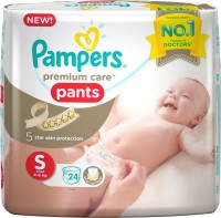 Pampers Premium Care Pants Diapers Small - S(24 Pieces)