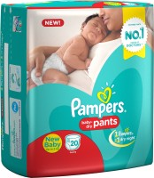 Pampers Pants Diapers - New Born(20 Pieces)