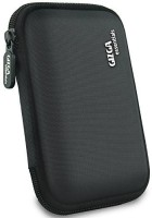 Gizga Essentials Hard Drive Case 2.5 inch Double Padded(For 2.5-Inch External Hard Drive, Black)