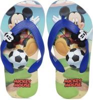 Mickey Boys Slip On Slipper Flip Flop(Blue)